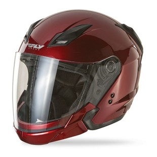 Fly Tourist Helmet - Candy Red / XS [Open Box]