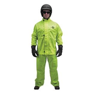 Black Brand Hi-Vis Rain Suit