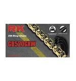 RK 520 GXW XW-Ring Chain 130 Links / Gold [Open Box]
