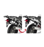 Givi PLXR1110 Rapid Release V35 Side Case Racks Honda VFR1200X 2016