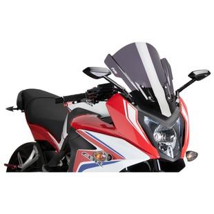 Puig Touring Windscreen Honda CBR650F 2014-2015 Dark Smoke [Previously Installed]