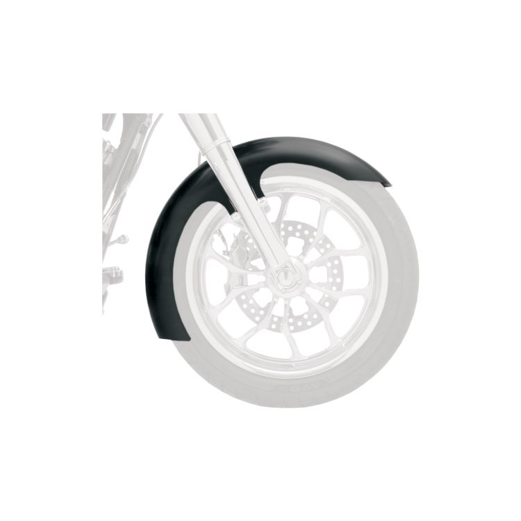 Klock Werks Slicer Tire Hugger Series Front Fender Fit Kit For Harley Dyna 2006-2017