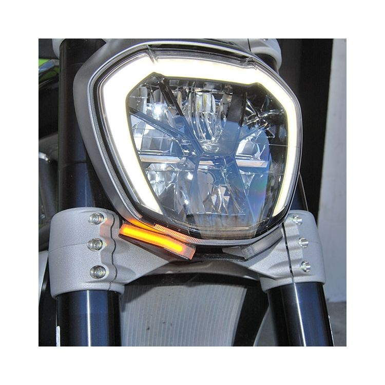 New Rage Cycles LED Front Turn Signals Ducati XDiavel / S 2016-2019