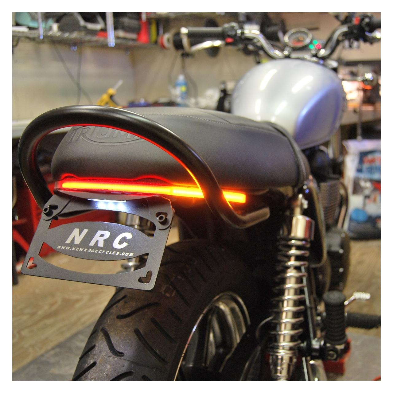 New Rage Cycles Led Fender Eliminator Triumph Scrambler 2016 Revzilla Wiring Diagram 2010 Thruxton