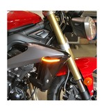 New Rage Cycles LED Front Turn Signals Triumph Street Triple / R 2013-2016