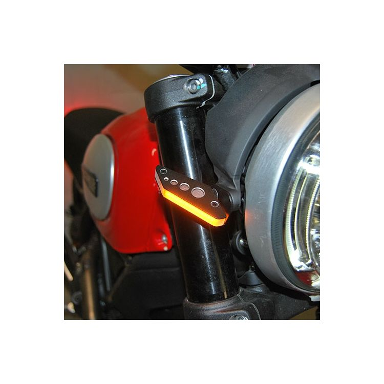 New Rage Cycles LED Front Turn Signals Ducati Scrambler 2015-2018