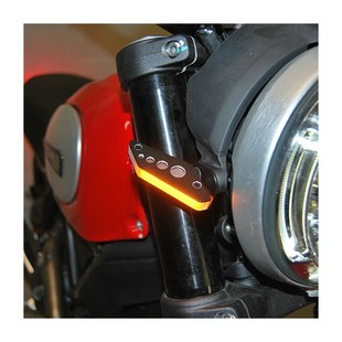 New Rage Cycles LED Front Turn Signals Ducati Scrambler 2015-2017