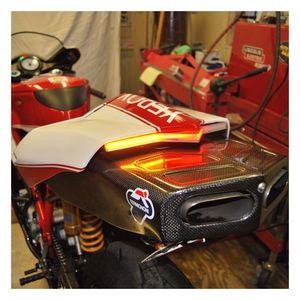New Rage Cycles LED Fender Eliminator Ducati 749 2003-2006