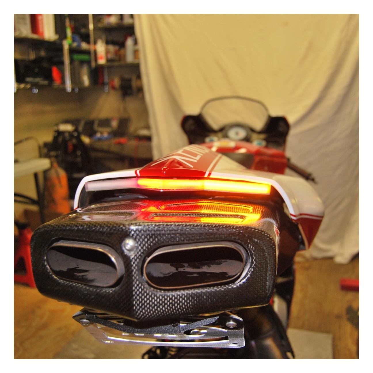 New Rage Cycles Led Fender Eliminator Ducati 749 2003 2006 Revzilla 2005 Wiring Harness