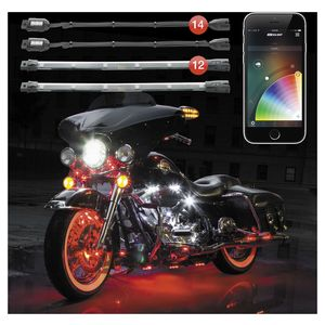 XK Glow XKChrome App Controled Light Kit / Motorcycle