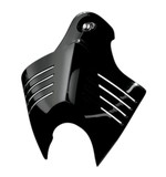 Kuryakyn V-Shield Horn Cover For Harley 1992-2016 Black [Previously Installed]