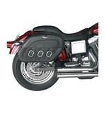 Saddlemen Slant Saddlebags For Harley Sportster 1994-2016 Black / Drifter [Previously Installed]