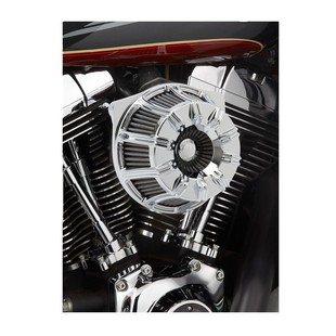 Arlen Ness 10-Gauge Inverted Series Air Cleaner Kit For Harley 2008-2016 Chrome [Open Box]