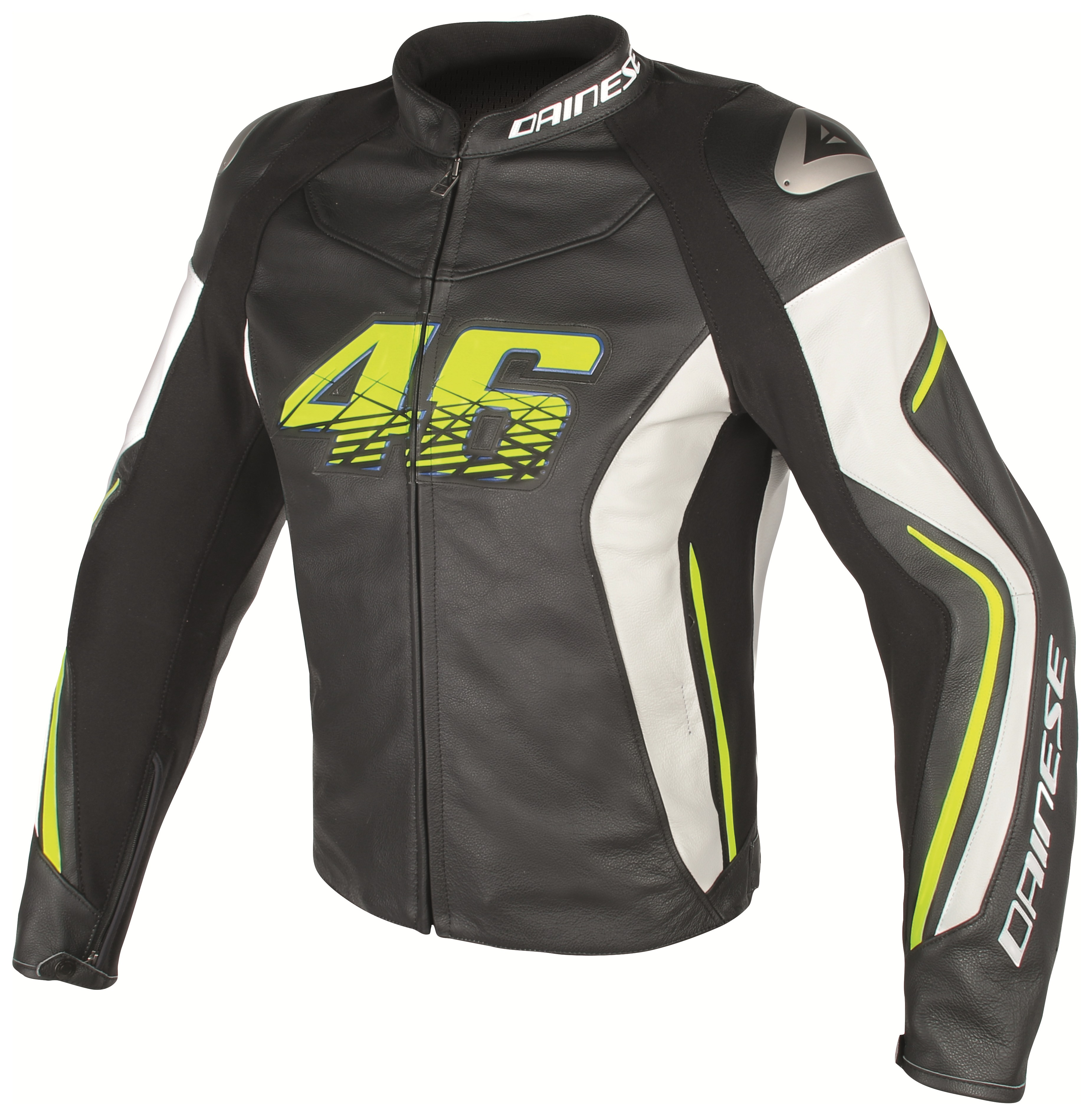Dainese vr46 d2 leather jacket 20 off revzilla for D garage dainese corbeil horaires