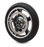 "Arlen Ness 15"" Big Brake Front Rotor For Harley Dyna / Softail"
