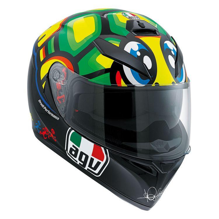 ... AGV K3 SV Helmets. Black/Green