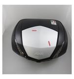 Givi V47 Tech Monokey Top Case Matte Black/Silver [Blemished - Very Good]
