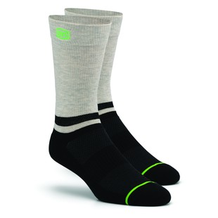 100% Block Athletic Socks