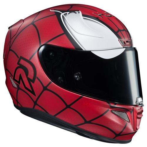 hjc rpha 11 pro spiderman helmet revzilla. Black Bedroom Furniture Sets. Home Design Ideas