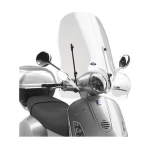 Givi 104A Windscreen Vespa 2005-2013 Windscreen Only [Blemished - Very Good]