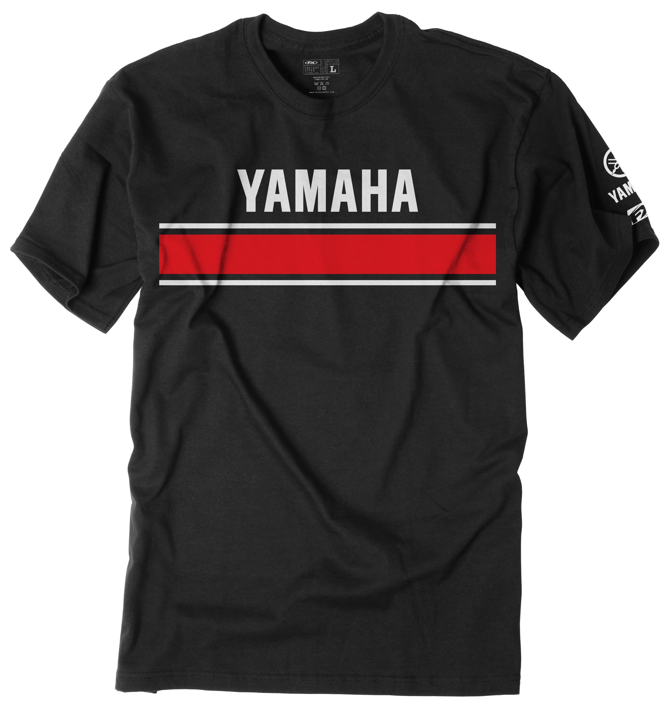 factory effex yamaha retro t shirt 10 off revzilla. Black Bedroom Furniture Sets. Home Design Ideas