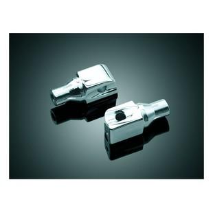 Kuryakyn Front/Rear Tapered Foot Peg Adapters Kawasaki / Suzuki / Yamaha [Previously Installed]