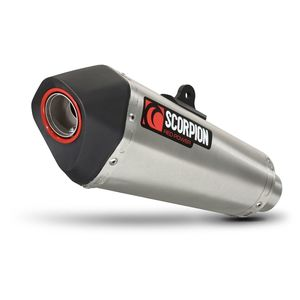 Scorpion Serket Taper Slip-On Exhaust Suzuki SV650 2017-2018