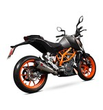 Scorpion Serket Taper Slip-On Exhaust KTM 390 Duke 2013-2016