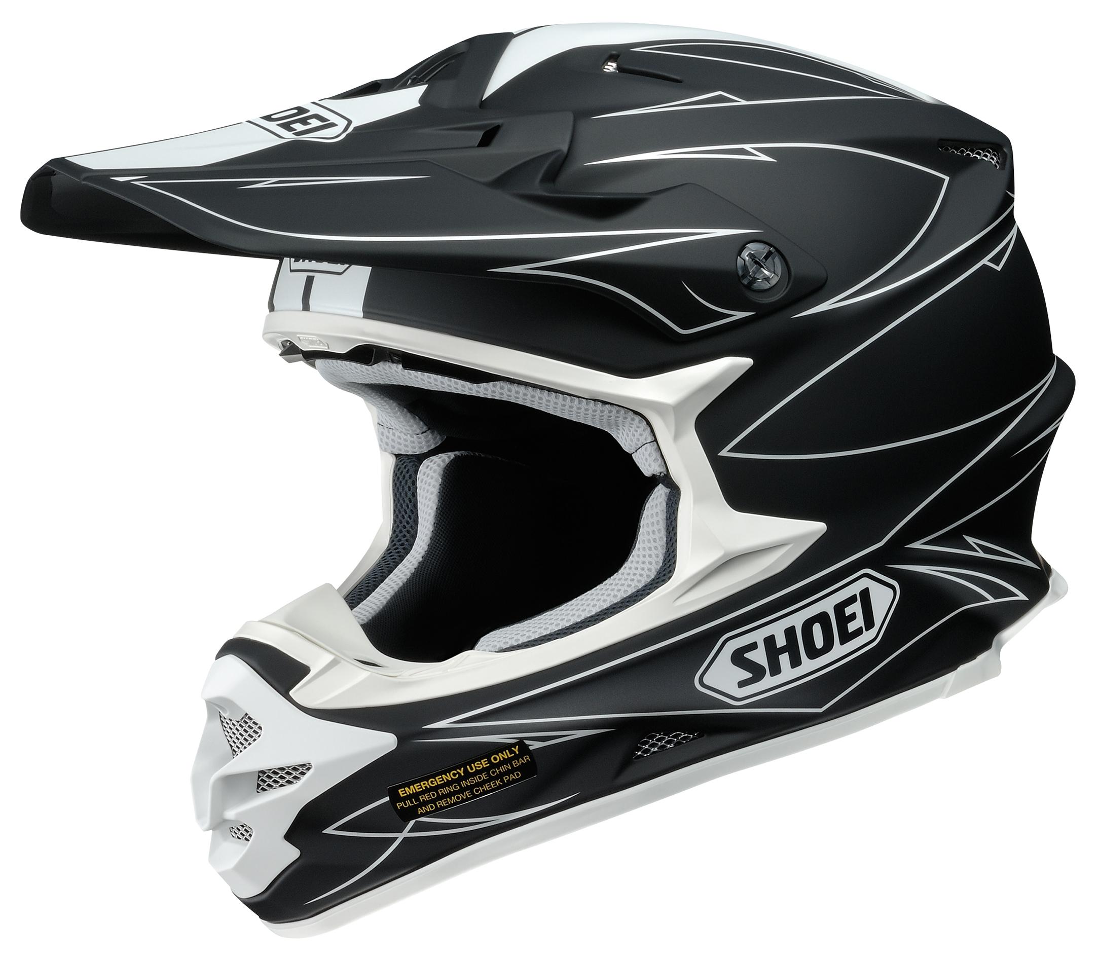 shoei vfx w hectic helmet 20 off revzilla. Black Bedroom Furniture Sets. Home Design Ideas
