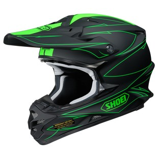Shoei VFX-W Hectic Motorcycle Helmet