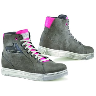 TCX Street Ace Air Women's Shoes (Color: Cool Grey/Fuchsia / Size: 38)
