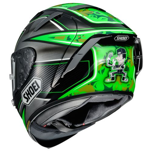 shoei x 14 laverty helmet revzilla. Black Bedroom Furniture Sets. Home Design Ideas