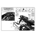 Givi PLX449KIT Side Case Fitting Kit Kawasaki ER-6N / Ninja 650R 2009-2011