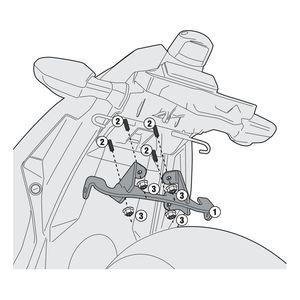 Givi Brackets For Side Case Racks