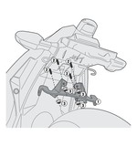 Givi Side Case Rack Mounting Kits