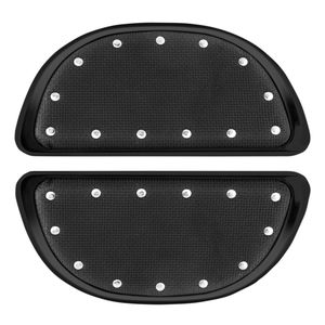 CycleSmiths Banana Boards Passenger Floorboard Covers For Harley 1984-2019