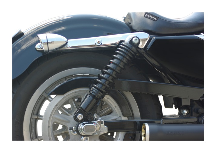 """Drag Specialties 13/"""" Black Replacement Shocks for 1991-2017 Harley Dyna FXD"""