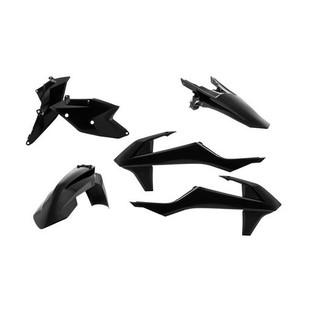 Acerbis Standard Plastic Kit KTM SX / SX-F / XC-F 125cc-450cc 2016 Black [Blemished - Good]