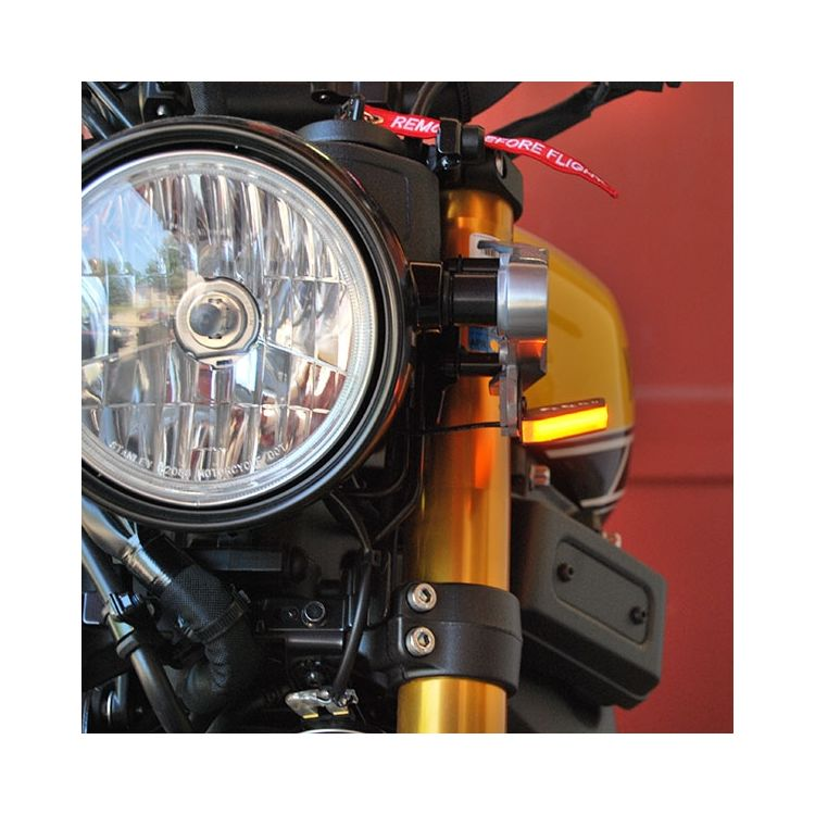 New Rage Cycles LED Front Turn Signals Yamaha XSR900 2016-2019