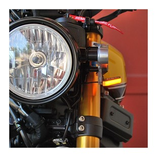 New Rage Cycles LED Front Turn Signals Yamaha XSR900 2016-2017