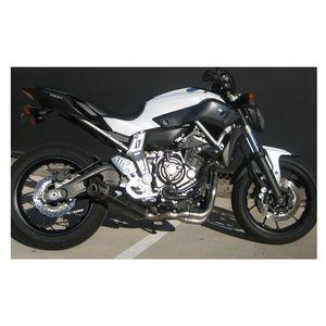 Akrapovic Racing Exhaust System Yamaha FZ-07 / MT-07 2015