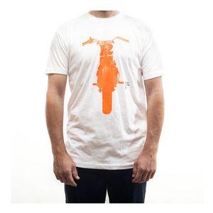 British Customs Tracker Orange T-Shirt
