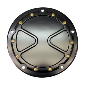Carl Brouhard Bomber Derby Cover For Harley Big Twin 1999-2018