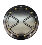 Carl Brouhard Bomber Derby Cover For Harley Twin Cam 1999-2017