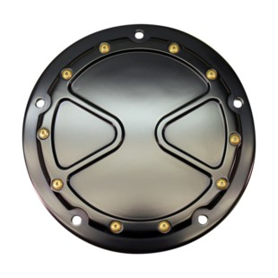 Carl Brouhard Bomber Derby Cover For Harley Touring 2015-2017