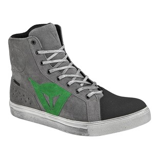 Dainese Street Biker D-WP Shoes Grey/Green / 43 [Demo - Good]