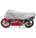 Cover Max Motorcycle Half Cover Silver / LG [Previously Installed]