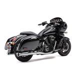 "Cobra Classic 4"" Slip-On Mufflers for Kawasaki Vulcan 2009-2016"