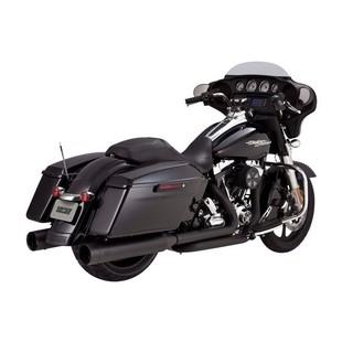 "Vance & Hines 4 1/2"" Titan Oversized Slip-On Mufflers For Harley Touring"