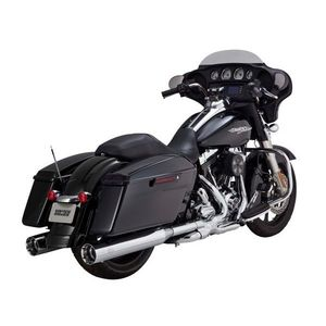 "Vance & Hines 4 1/2"" Titan Oversized Slip-On Mufflers For Harley Touring"